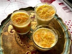 orange, citron, mascarpone, glace