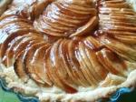 tarte aux pommes, frangipane, gelée de coings