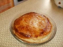 galette des rois, frangipane, pâte feuilletée
