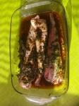 tajine,rougets,poissons,gingembre,cumin,paprika,poivre,coriandre,citrons confits