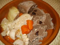 farz,carotte,chou pommé,rutabaga,poireaux,recettes de bretagne,végétarien