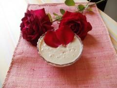 crème, rose, agave, sucre roux entier